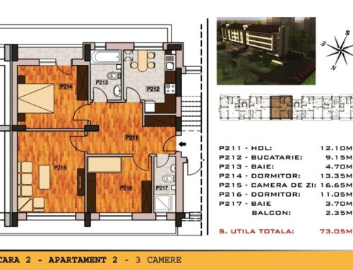 Campia Libertatii Residence Ap 2 Scara 2