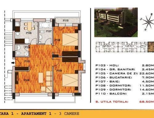 Campia Libertatii Residence Ap 1 Scara 1