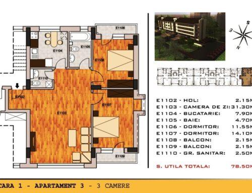 Campia Libertatii Residence Ap 3 Scara 1