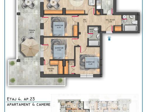 Postavarului Stylish Residence Etaj 4 Ap 23