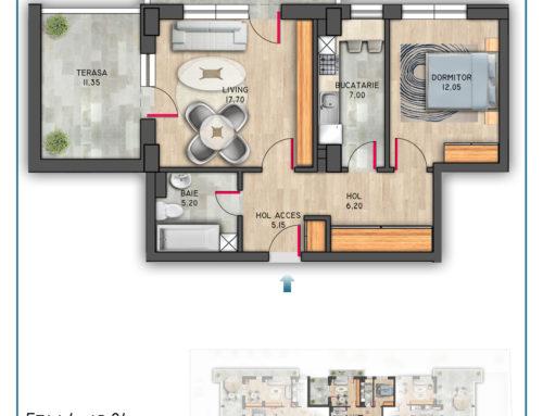 Postavarului Stylish Residence Etaj 4 Ap 24