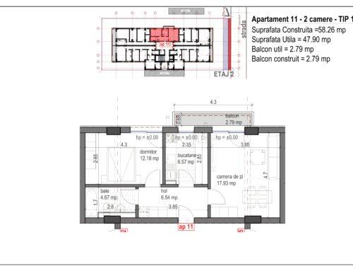 Postavarului  Stylish Residence 2 Etaj2 Ap11