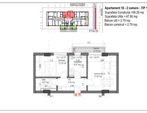 Postavarului  Stylish Residence 2 Etaj3 Ap16