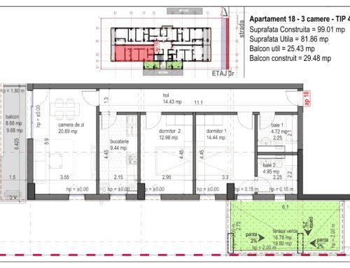 Postavarului Stylish Residence 2 Etaj3 Ap18