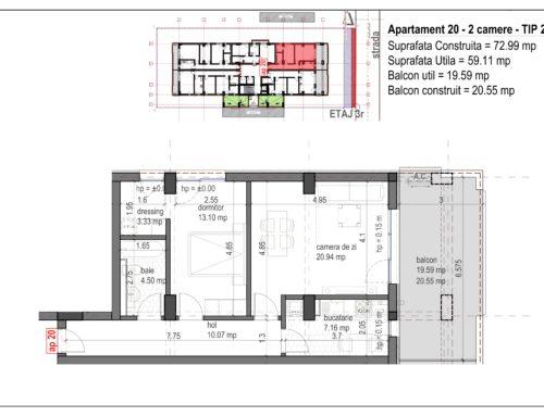 Postavarului Stylish Residence 2 Etaj3 Ap20