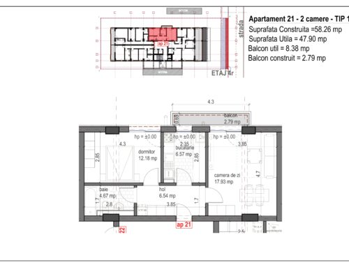 Postavarului Stylish Residence 2 Etaj4 Ap21