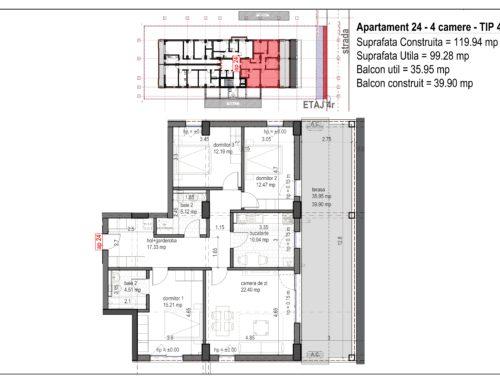 Postavarului Stylish Residence 2 Etaj4 Ap24