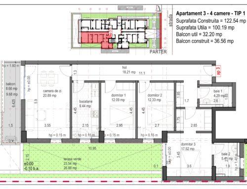 Postavarului  Stylish Residence 2 Parter Ap3